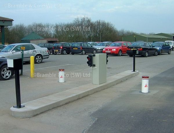 Automatic Rising Bollard,Stoppy,Somerset,Bath,Exeter and Devon
